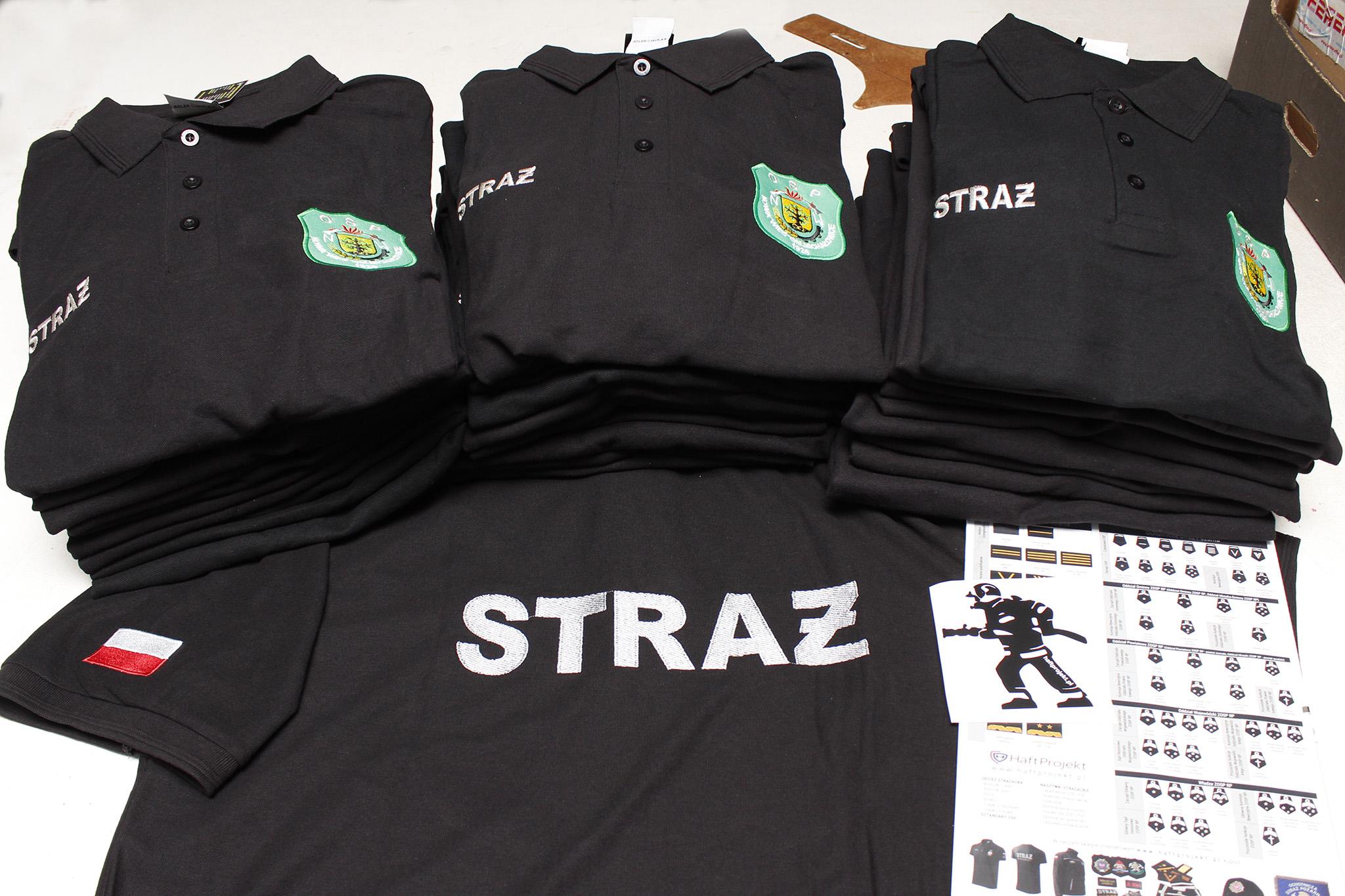 koszulki polo dla Osp Nowa Wieś